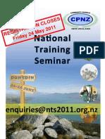 NTS 2011 Registration Form