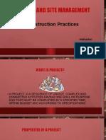 1 Contruction Practices