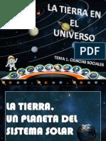 TEMA 1. LA TIERRA EN EL UNIVERSO