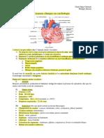 10- Examen clinique en cardiologie