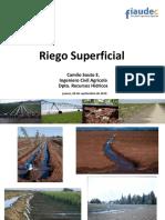 Riego Superficial Surcos