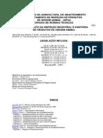 Instrução de normas técnicas MAPA