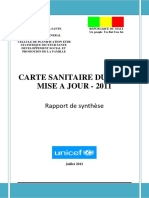 Rapport de Synthese Carte Sanitaire 2011 Vf