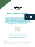 Histoire des Lettres Hébraïques