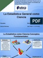 Infografía (La Estadistica General como Ciencia) Ev2_Jean Palis_30.154.092