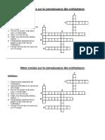 Ce2 Informatique Mots Croises Sur La Connaissance Des Ordinateurs 3eme 4eme 5eme Primaire PDF
