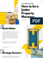 11 Tips on How to Be a Better Property Manager