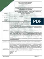Informe Programa de Formación Complementaria AGUA 60H