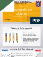 Cromatografía por adsorción