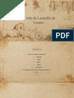 trabajo castellano LAZARILLO DE TORMES