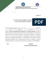 Anexa 8 Declaratie de minimis