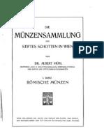Die Münzensammlung des Stiftes Schotten in Wien. 1. Bd.