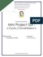 Mini Project de Electronique de Puissane