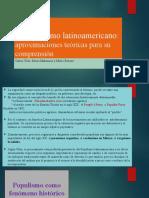 El Populismo Latinoamericano PWP