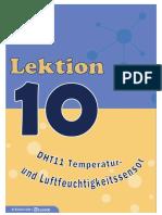 2.10 DHT11 Temperatur- und Luftfeuchtigkeitssensor