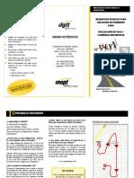 Requisitos Ingeniería de Tránsito DGIT