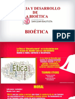 Historia y Desarrollo de La Bioética