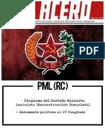De Acero 11 PML (RC)