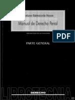 Manual de Derecho Penal - Gustavo Balmaceda Hoyos