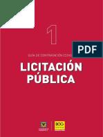 1 Cartilla de Licitacion Publica