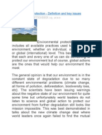 environment protection&key words
