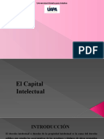 Derecho Civil VI  Tarea # I CAPITAL INTELECTUAL
