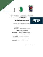 PRODUCTO 1 UNIDAD 2 REPORTE DE INVESTIGACION