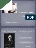 teoría de la personalidad ppt