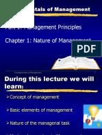 Fundamentals of Mgt. Lec 1