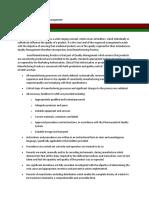 M2 - Lesson 1 - Quality Risk Management