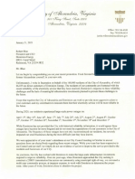 Jan 21 Letter From Mayor Wilson to Robert Blue_dominion