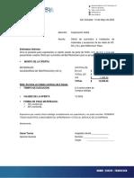 CH 001 Suministro Restrainer Corporacion Noble, May 14th, 2020
