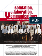 Consolidation Collaboration Nad Communication