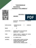 MARCO LOGICO Y ARBOLES,+..