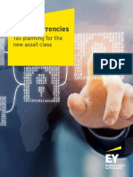 EY Cryptocurrencies Tax Planning for the New Asset Class