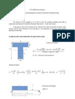 Elastic Deflection and Bending Stress Analysis