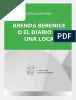 Brenda Berenice o El Diario de Luis Montano PDF