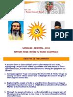 SAMPARKA ABHIYAN - 2011
