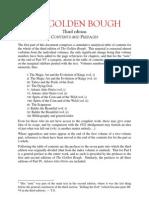Golden Bough - Contents & Prefaces