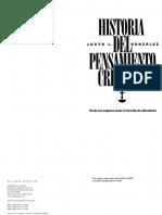 Historia Del Pens Cristiano-Justo Gonzalez
