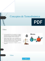 Conceptos termodinamica
