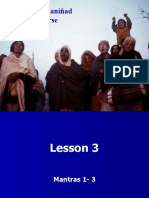 Isopanisad Lesson 3 Mantras 1-3