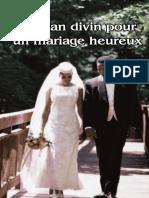 Le plan divin pour un mariage heureux°Roderick C. MEREDITH°34