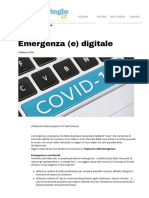 20200324 Emergenza (e) digitale _ Strategie Amministrative