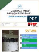 3. Pekerjaan Panel & Grounding Panel