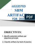 SBM-ARTIFACTS