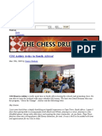 Chess in South Africa