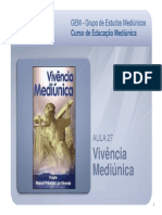 GEM Aula 27 Vivencia Mediunica