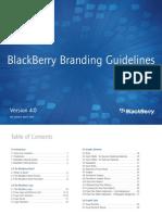 BlackBerryBrandingGuidelinesVersion40March 2007