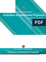 Evaluating Unsolicited Proposals